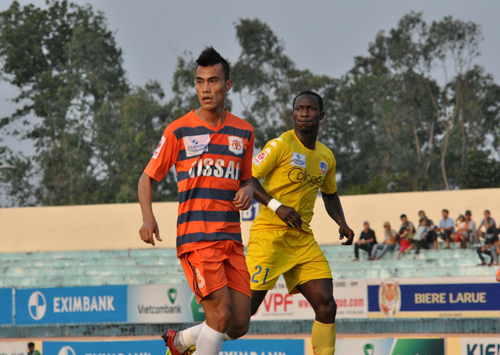 Cái tên XM Vissai Ninh Bình đã biến mất khỏi bản đồ bóng đá Việt Nam.Ảnh: A.SẮC