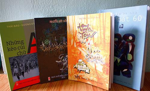 Bốn tập thơ ra mắt vào ngày 13.11.2014