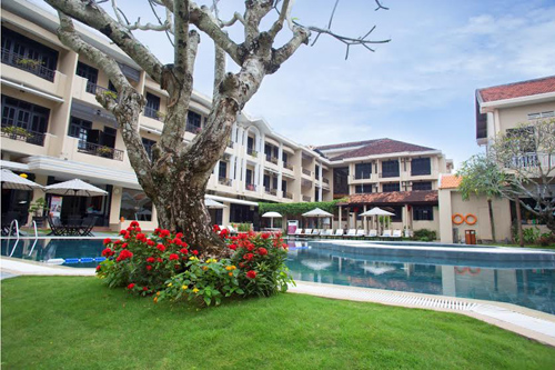 Many hotels in Hoi An meet international standards.