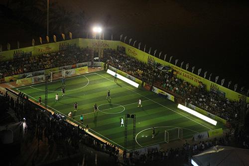 Giải bóng đá Cúp Bia Sài Gòn là món ăn tinh thần lý thú cho người yêu thể thao.