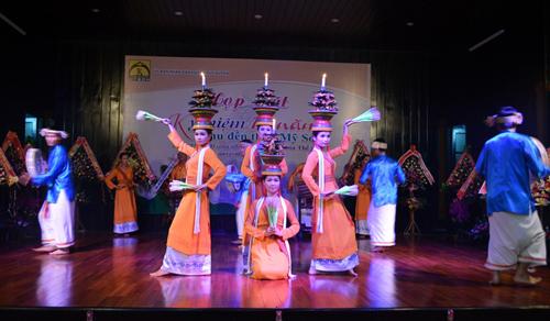 Nghệ thuật múa Chăm đã trở thành sản phẩm du lịch thương hiệu của Mỹ Sơn.