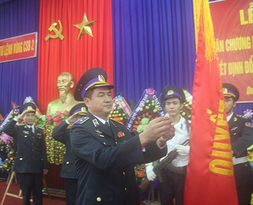 Ngày 12.12, tại huyện Núi Thành, Bộ Tư lệnh Vùng Cảnh sát biển 2, Bộ Tư lệnh Cảnh sát biển Việt Nam đã đón nhận Huân chương Bảo vệ Tổ quốc hạng Ba và thông báo quyết định đổi tên Vùng Cảnh sát biển 2 (CSB2) thành Bộ Tư lệnh Vùng CSB2.