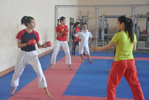 Các bộ môn võ được xem là chủ lực của thể thao Quảng Nam trong nhiều năm qua.Anhr: ANH SẮC
