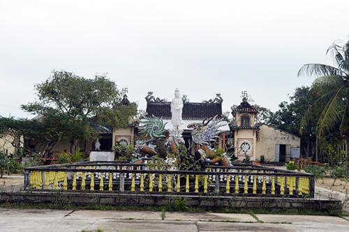 Chùa Thanh Lương được xem là một trong những chùa có lịch sử lâu đời ở Quảng Nam.  Ảnh: VĨNH LỘC