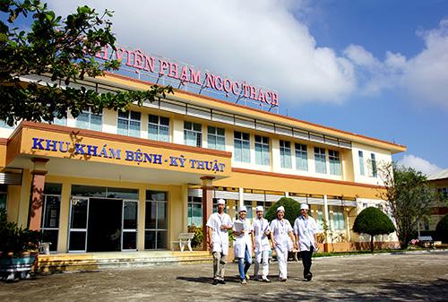 Qua 10 năm thành lập, Bệnh viện Lao và bệnh phổi Quảng Nam đã dần ổn định và trưởng thành về mọi mặt. Ảnh: PHƯƠNG THẢO