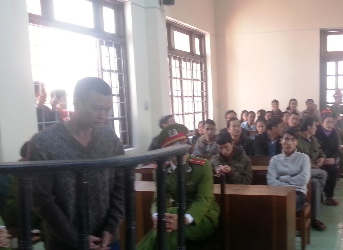 Đối tượng Trần Văn Nam tại phiên tòa sáng 31.12