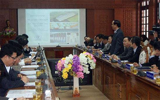 Quang cảnh tại hội nghị sơ kết 2 năm hợp tác đầu tư.