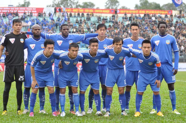 Đội hình xuất phát của QNK Quảng Nam