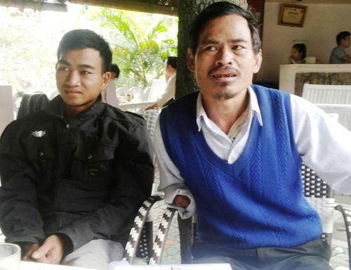 Hộ ông Nguyễn Xuân Anh là một trong 5 hộ khiếu nại phản ánh về hành trình đi đòi quyền lợi hợp pháp của mình. Ảnh: T.H