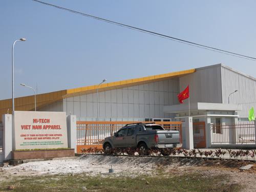 Những dự án sản xuất công nghiệp thu hút nhiều lao động và thu nhập cho công nhân tại Duy Xuyên.