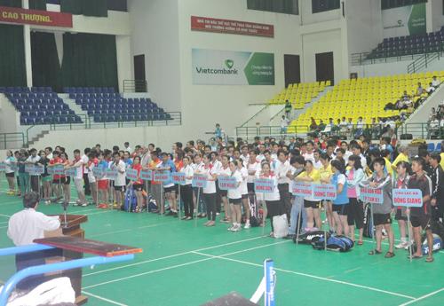Giải các câu lạc bộ tỉnh do LĐCL tỉnh tổ chức ngày càng mở rộng quy mô và chất lượng cao. Ảnh: A.S