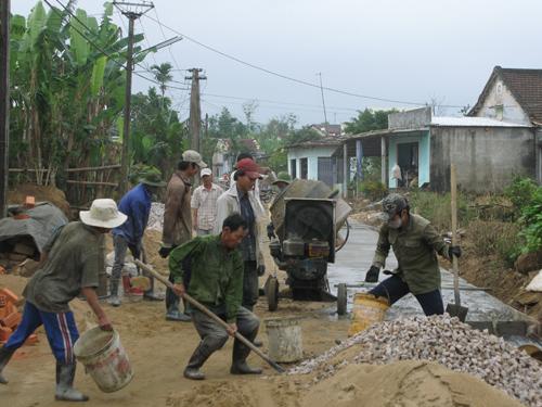Phong trào phát triển GTNT trên địa bàn tỉnh có sức lan tỏa và đạt được nhiều kết quả.Ảnh: CÔNG TÚ