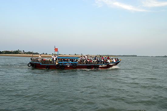 Nhiều tiềm năng du lịch vùng đông Duy Xuyên sẽ được đánh thức khi cầu Cửa Đại đưa vào sử dụng.