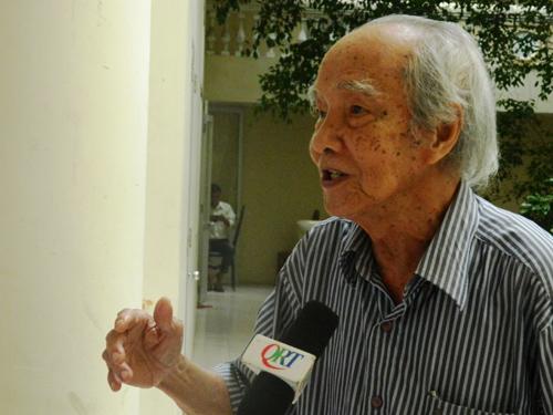 Nhạc sĩ Trương Đình Quang.