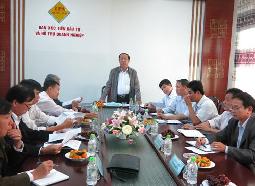 Quảng Nam đã tổ chức nhiều cuộc đối thoại doanh nghiệp định kỳ vào ngày 5 hàng tháng để cải thiện môi trường đầu tư.             Ảnh: T.D