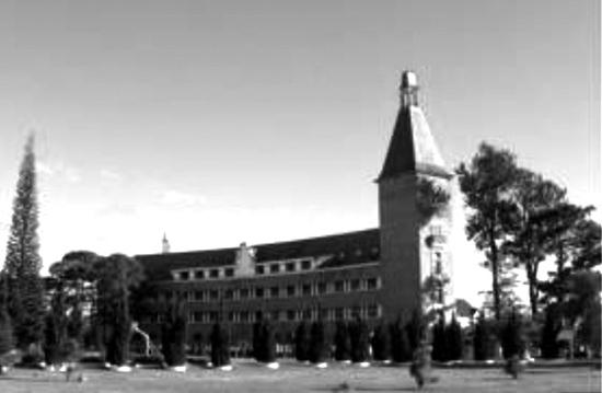 Lycée Yersin, nay là Trường Cao đẳng Sư phạm Đà Lạt.