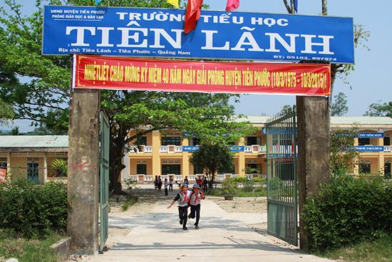 Trường Tiểu học Tiên Lãnh.