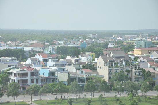 Một góc đô thị Tam Kỳ.