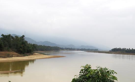 Nơi ngã ba sông (thôn Hà Tân, Đại Lãnh, Đại Lộc).  Ảnh: HOÀNG LIÊN