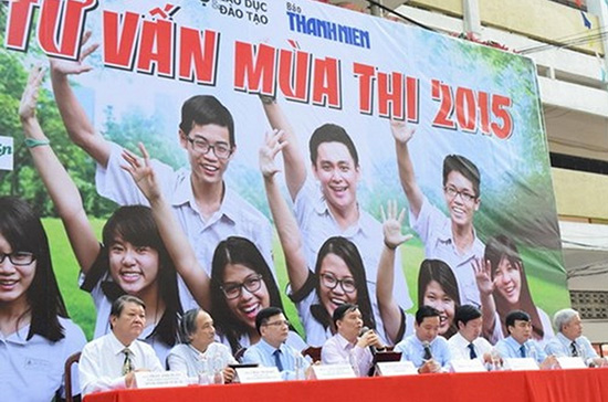 Báo Thanh niên tư vấn mùa thi 2015.