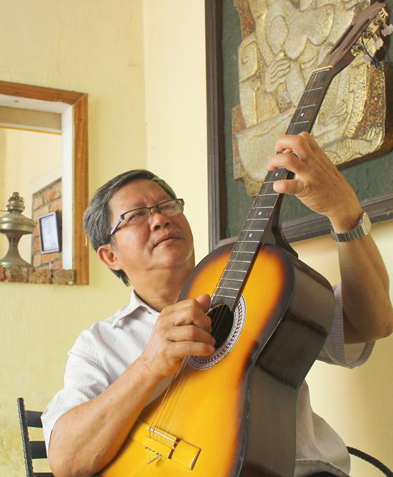 Nhạc sĩ Phan Văn Minh. Ảnh: H.X.H