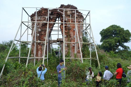 Phật viện Đồng Dương sẽ là một trong những điểm nhấn của du lịch Thăng Bình. Ảnh: VĨNH LỘC
