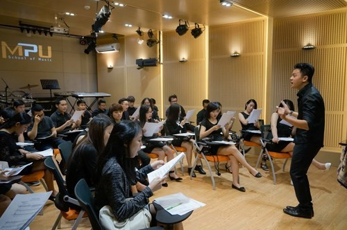 The choir from MPU School of Music in Ho Chi Minh City will represent Vietnam at the 4th International Choir Competition in Hoi An city.