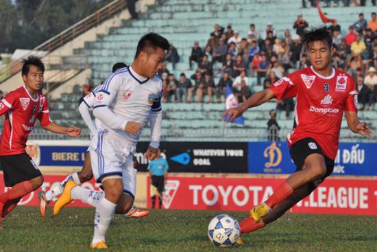 Thanh Trung có được bàn thắng thứ 2 tại mùa giải năm nay.
