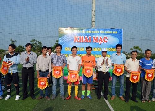 Giải thu hút hơn 130 vận động viên đến từ 13 đơn vị tham gia