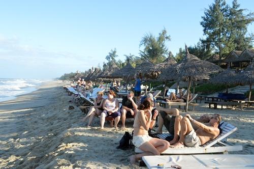 Các bãi biển Hội An sẽ rất đông khách trong những ngày lễ tới
