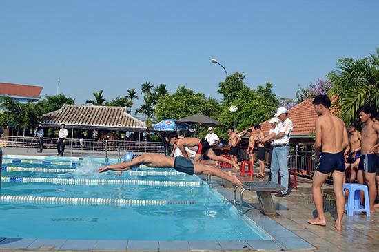 Qua giải bơi sẽ góp phần phổ cập rộng rãi bộ môn bơi trong các trường học
