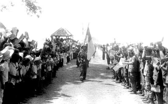 Không khí những ngày giải phóng Côn Đảo.Ảnh tư liệu