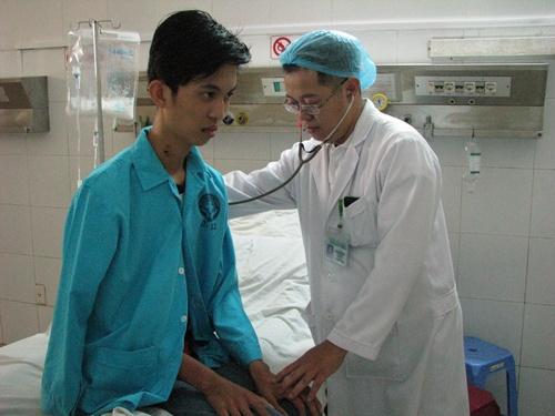 Bệnh nhân Huỳnh Bá Phúc đã được cứu chữa thành công nhờ phương pháp ECMO