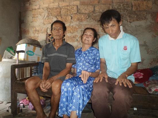 Gia đình ông Trần Văn Đây.