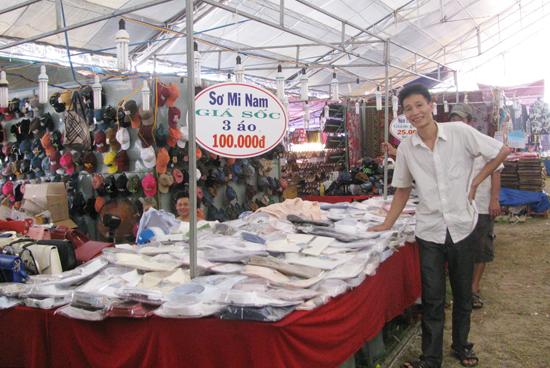 Không nâng cao chất lượng hội chợ nên lượt người tham gia đang giảm dần.Ảnh: THỤC ANH