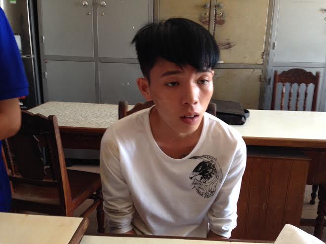 Hung thủ Lê Thanh Hùng.