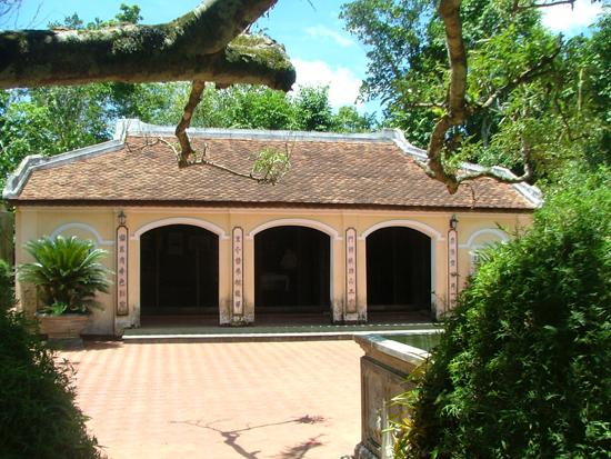 Nhà lưu niệm cụ Huỳnh Thúc Kháng tại Tiên Phước.
