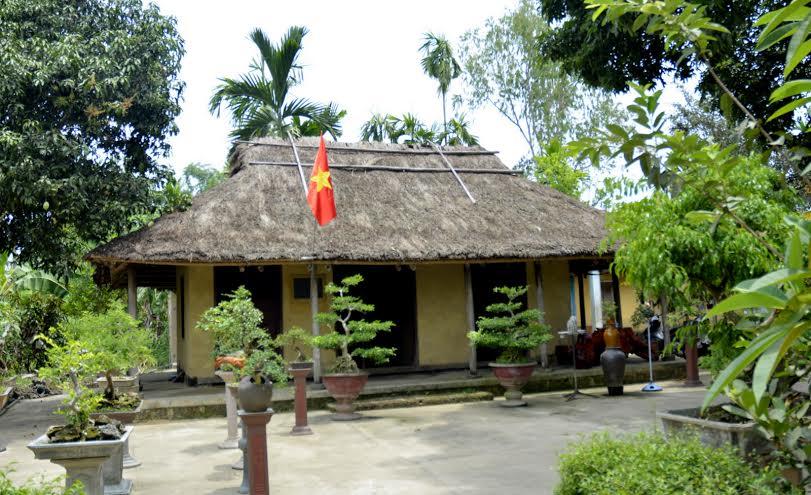 Di tích Uỷ ban Kháng chiến Hành chính Nam Trung Bộ, nơi cụ Huỳnh sống, làm việc và trút hơi thở cuối cùng.