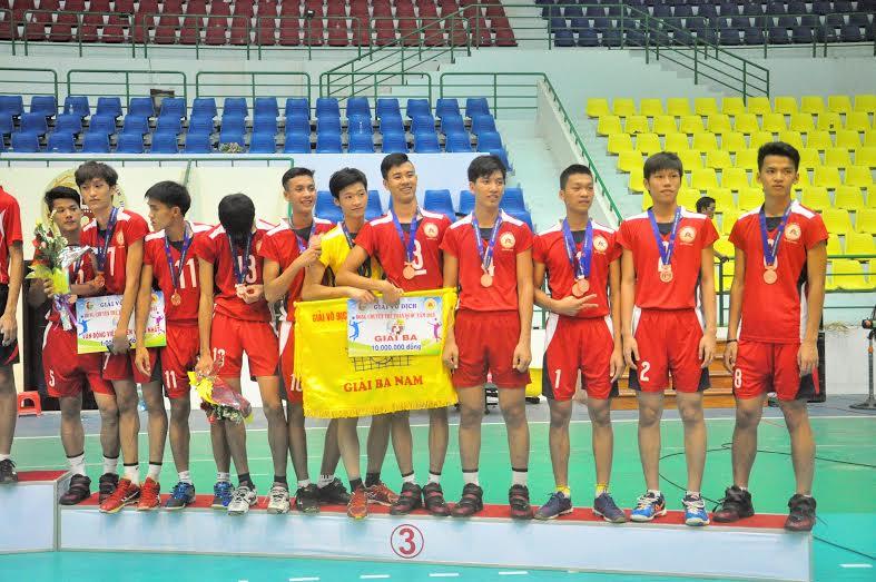 Quảng Nam giành giải ba là một bất ngờ lớn.