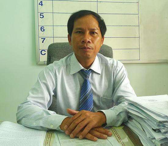 Ông Lê Thanh Hưng - Trưởng ban Tổ chức Huyện ủy Nam Trà My.