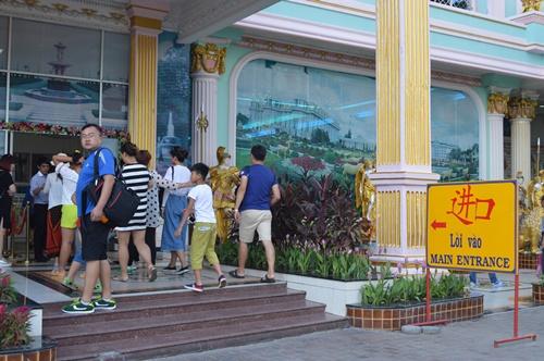Tiếng Việt được sử dụng khá nhiều tại các điểm du lịch của Thái Lan