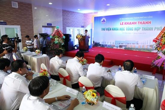 Toàn cảnh lễ khánh thành Thư viên Tổng hợp TP.Đà Nẵng