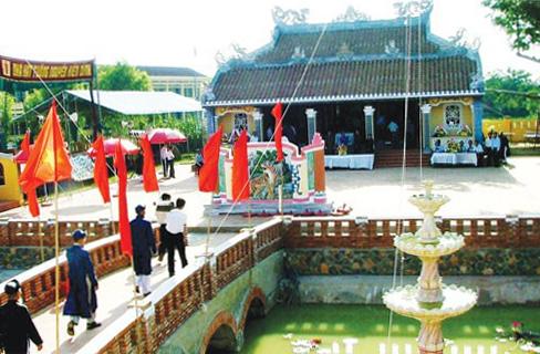 Đình làng Thanh Quýt.