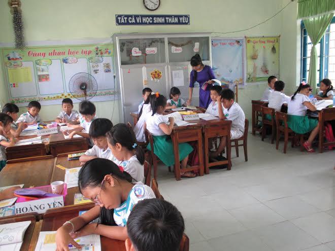 Năm học 2015 - 2016, mô hình trường học mới tiếp tục được triển khai ở lớp 6 cấp THCS.