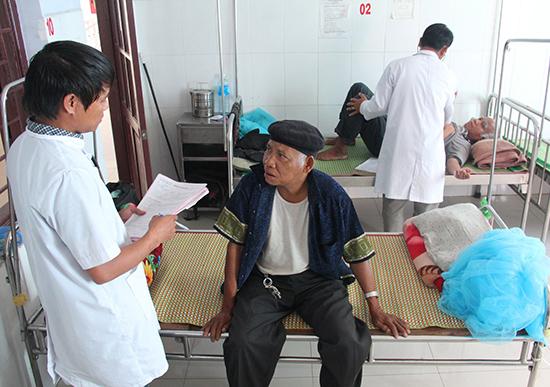 Trung tâm Y tế huyện Đông Giang hiện là một trong những đơn vị làm tốt công tác chăm sóc sức khỏe nhân dân ở địa bàn miền núi.