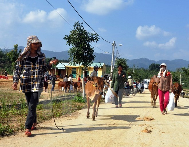 People in Nam Giang