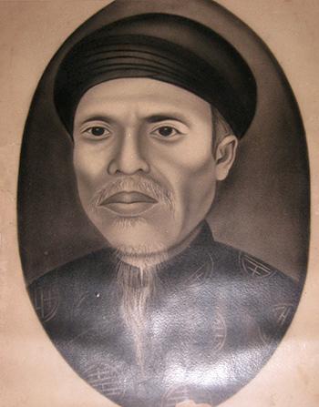 chân dung Hà Đình Nguyễn Thuật.