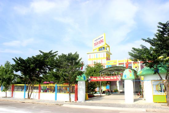 Trường Mầm non Tư thục Thần Đồng.