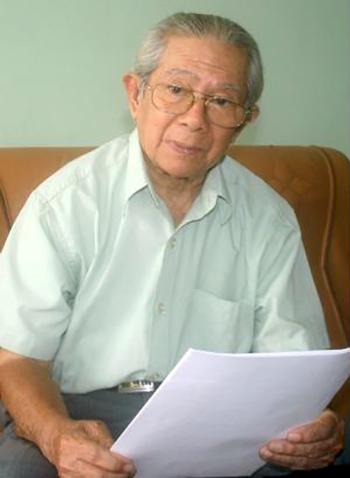 Nhà nghiên cứu Nguyễn Phước Tương.