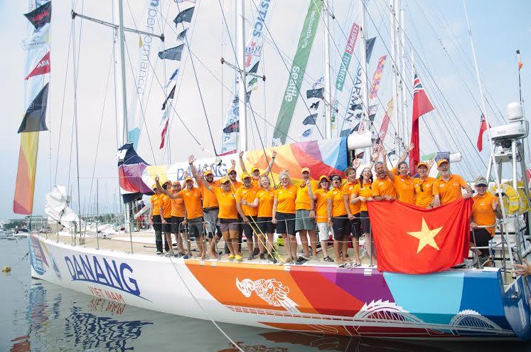 Đội đua thuyền buồm Đà Nẵng - Việt Nam.